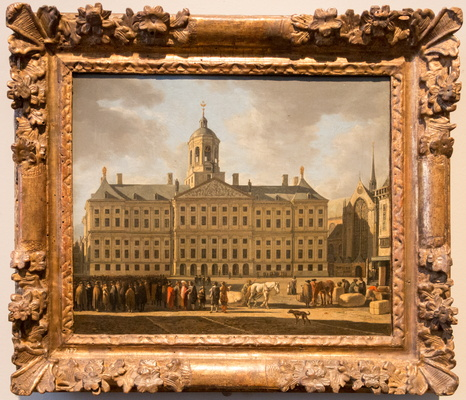 The Town Hall on Dam Square by Berckheyde