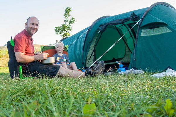 Camping, 23rd and 24th July 2014