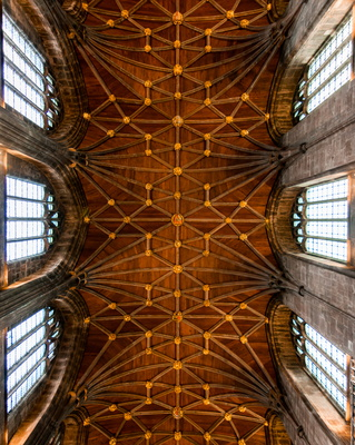 Chester Cathedral roof