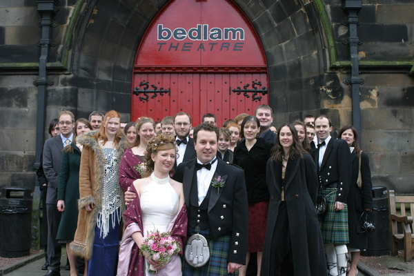 Bedlamites at the wedding