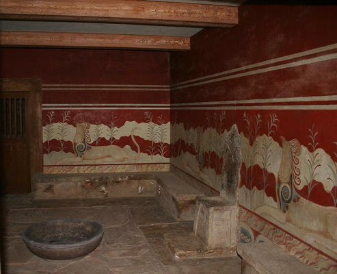 """Throne Room"" at Knossos"