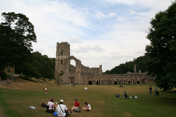 Fountains Abbey, August 2006