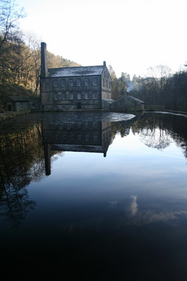 Gibson's Mill reflection