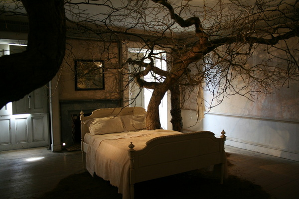 Bedroom at Belsay Hall
