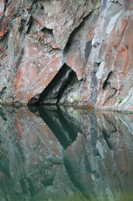 Cave reflection