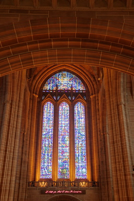 Liverpool Cathedral window