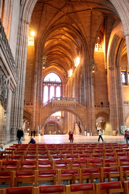 Liverpool Cathedral interior
