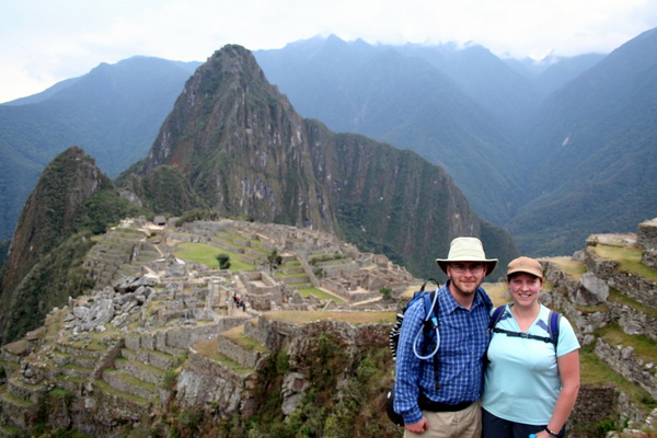 Us at Machu Picchu