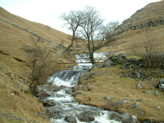View up Dowber Gill beck