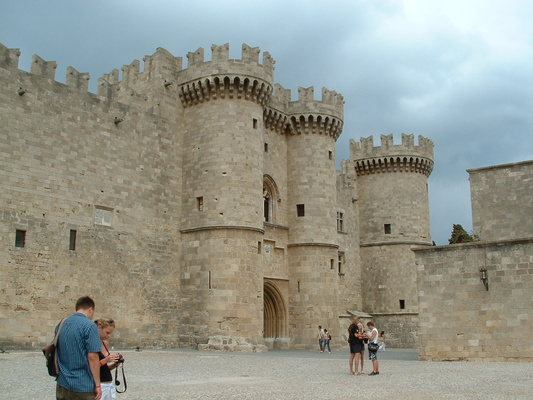The Palace of the Grand Masters, of the Knights of St John - Rhodes Old Town