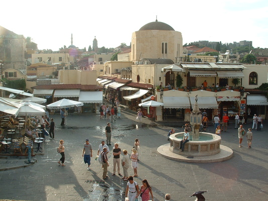 The Jewish Quarter of Rhodes Town