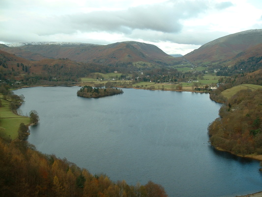 Rydal round via Loughrigg Fell, Grasmere and Alcock Tarn, 27th November 2005