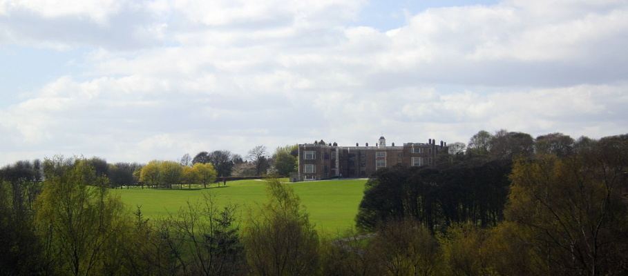View of Temple Newsam from Little Temple