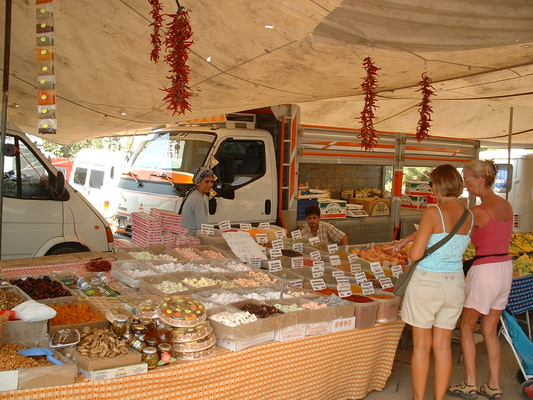 Market day in Hisaronu