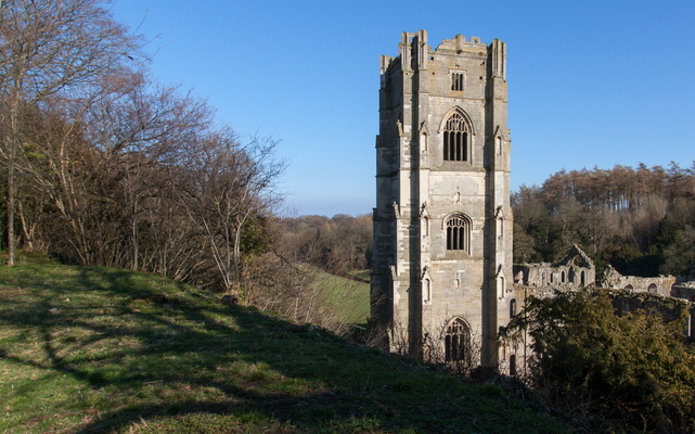Fountains Abbey tower