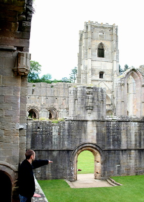 Fountains Abbey with Gavin and Joy, 20th June 2009